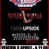 Psycho Vandals , Dark Upside , Hilldale Shock at Crazy Bull