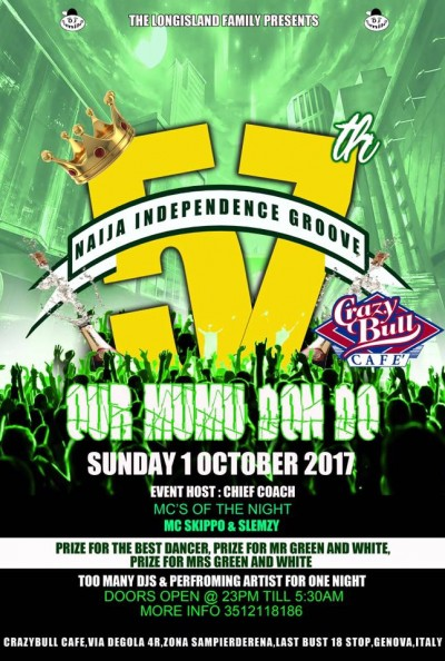 57th Naija Independence Groove