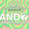 Random® • Genova • @ Crazy Bull