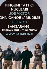 Pinguini Tattici / Joe Victor / John Canoe / Mudimbi_Bangarang!