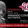 Armando Corsi & Friends at Crazy Bull Genova