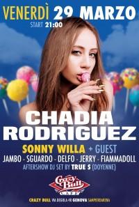 CHADIA RODRIGUEZ @ CRAZY BULL