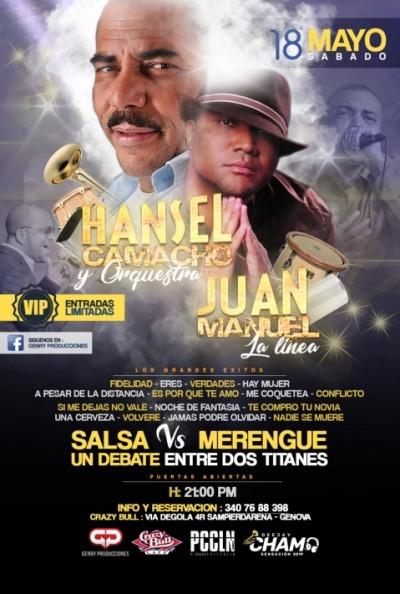 Hansel Camacho vs Juan Manuel | @Crazy_Bull_Genova