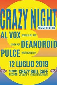 Al VOX & De Android & PULCE at CRAZY BULL GENOVA