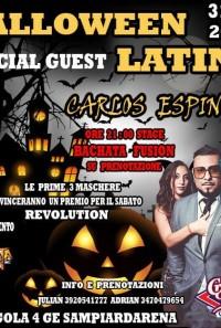 Halloween with Carlo Espinosa @ Crazy bull
