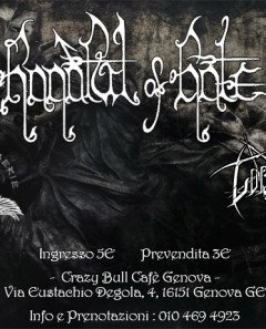 Handful of Hate + Guest live@ CrazyBull Cafe Genova