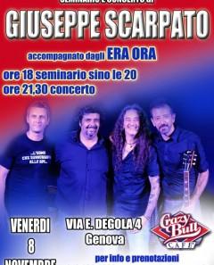 Seminario e concerto di Giuseppe Scarpato