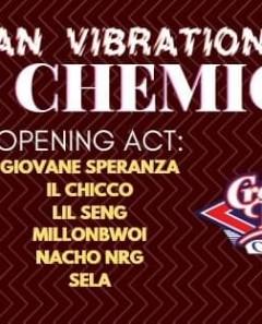 Urban Vibration x Crazy Bull// Rosa Chemical