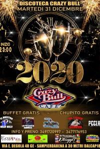 CAPODANNO 2020 @ CRAZY BULL GENOVA