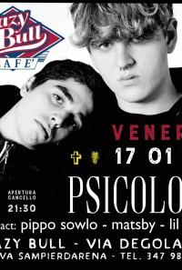 Psicologi Pippo Sowlo// Club Tour 2019 // Genova