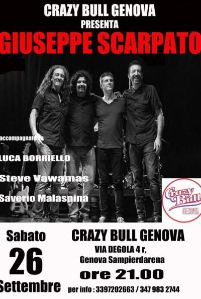 Giuseppe Scarpato & Era Ora live @ Crazy Bull