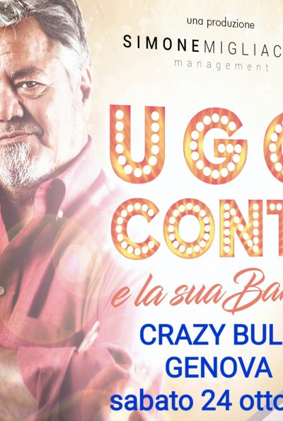 UGO CONTI & LA SUA BAND @CRAZY BULL CAFE'