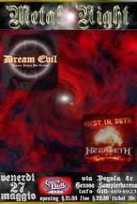 METAL NIGHT - Dream Evil (Dio tribute) Rust in Deth (Megadeth tribute)